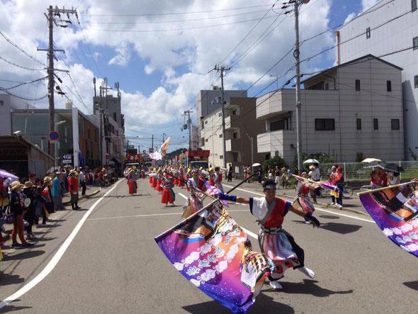 おどるんや〜第14回紀州よさこい祭り〜(高松演舞場)