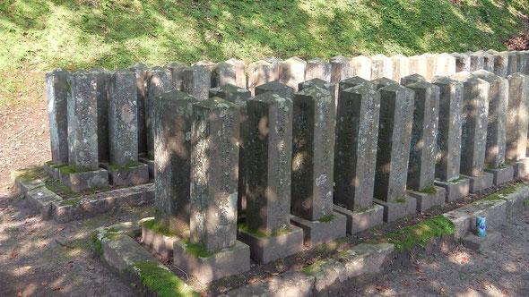 日露戦争 上等兵の墓