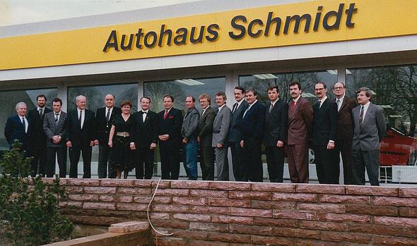 Vertreter der Adam Opel AG &  Lübzer Baubetriebe