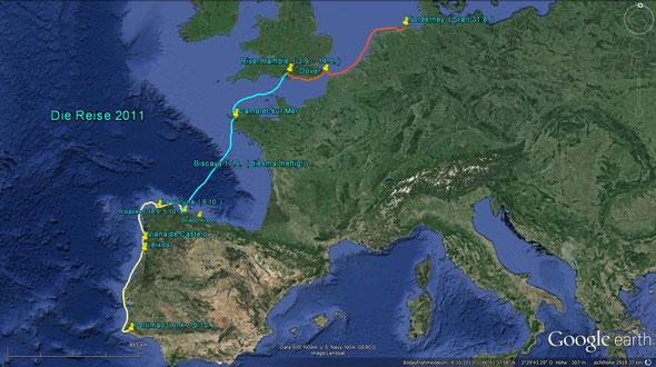 Die Reise im Herbst 2011