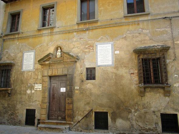 Pio Istituto dei Bonomini XV sec. Volterra