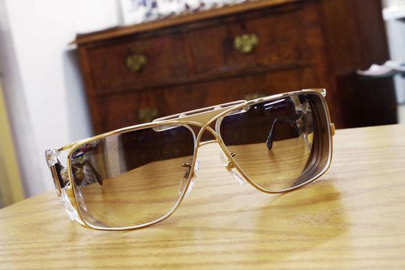 CAZAL955度付きサングラス正面写真