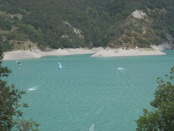 Kite-surf à Treffort