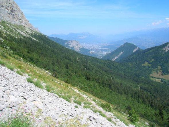 vue du Col vert : Grenoble