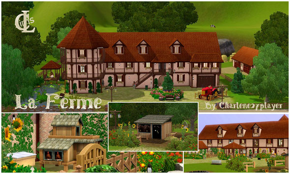 La ferme Sims 3 by Charlene27player