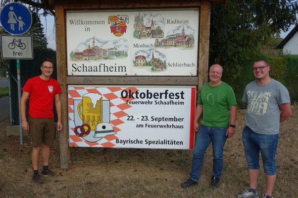 Die Vorbereitungen für das Oktoberfest am 22./23. September laufen auf Hochtouren