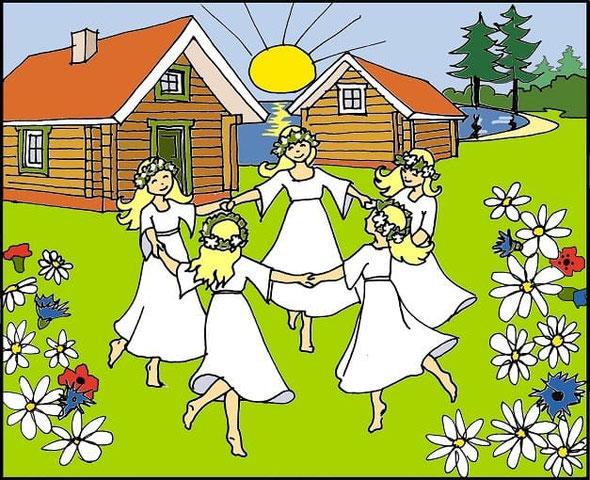 Grüsse vom Finnischen Mittsommerfest