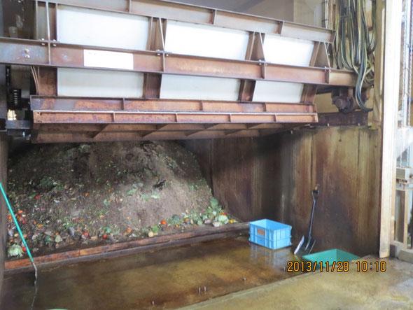 生ごみ発酵設備全部で3ヶ月かかる