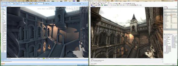 сравнение PainEngine и CryEngine Painkiller on CryEngine Unseen
