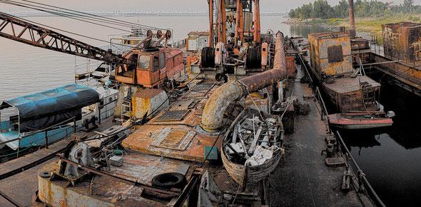гидра пристань для кораблей волжский