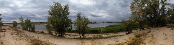 река Ахтуба,