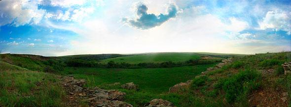 Понорамное изображение Ростовские луга