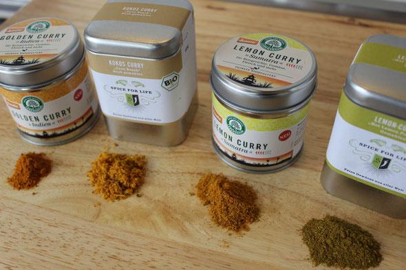 Currymischungen