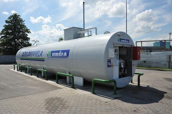 Degvielas mazumtirdzniecība Virši-A circle k Neste Latvija Viada