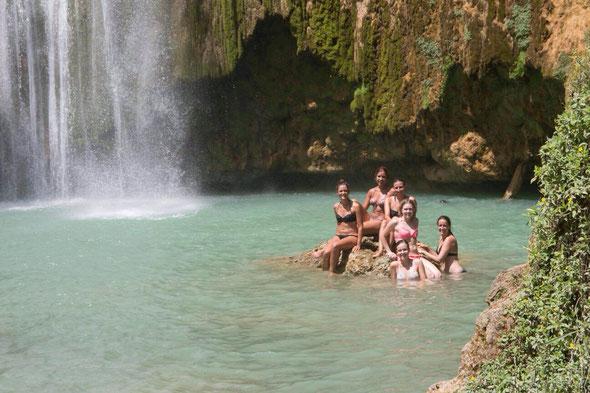 Salto de limon (größter Wasserfall hier)