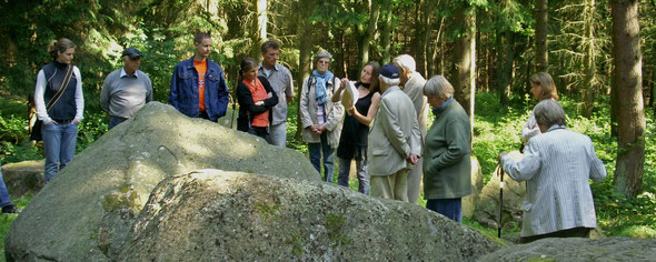 Archäologische Wanderung im Everstorfer Forst bei Wismar