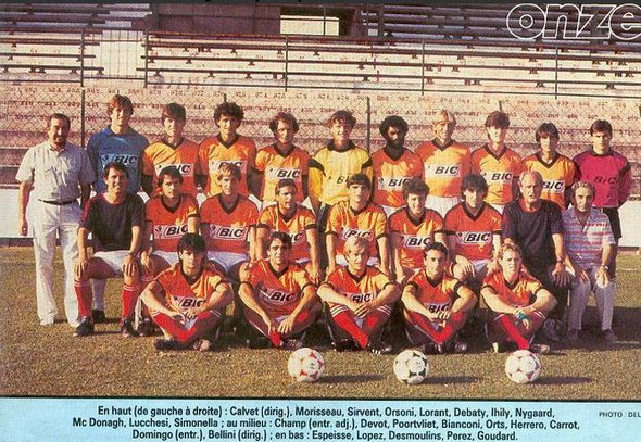 Nîmes Olympique 1985 1986