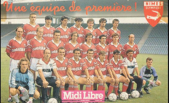 Nîmes 1988/1989