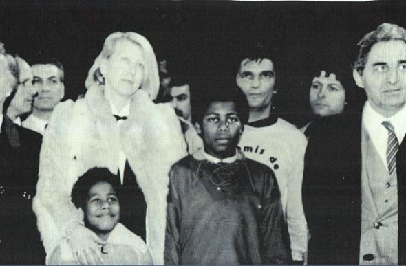Madame Adams et ses enfants