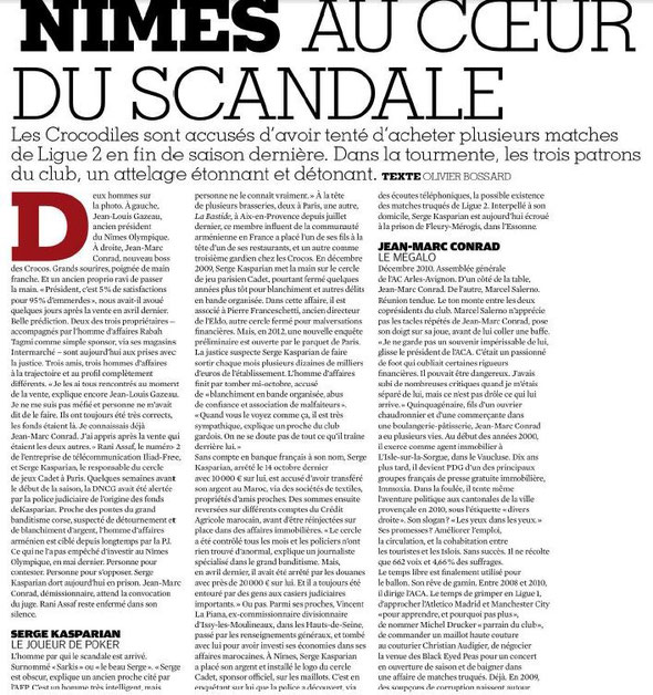 France Football 25/11/2014