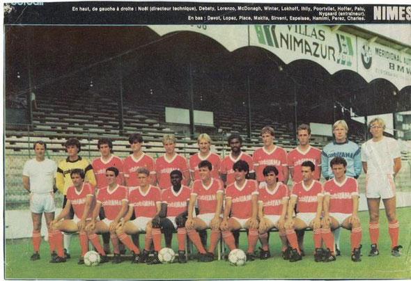 Nîmes Olympique 1986/87
