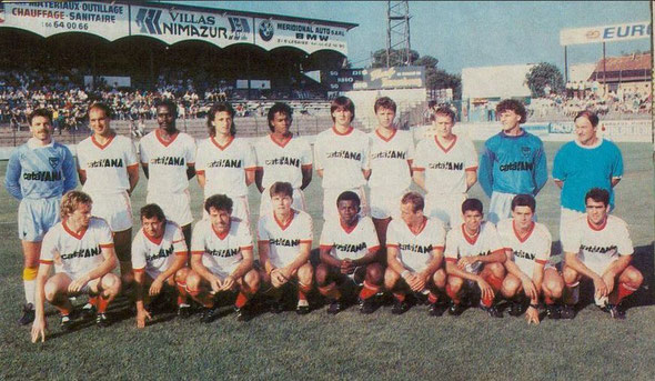 Nîmes 1987/88