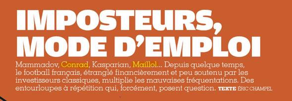 France Football du 24/02/2015