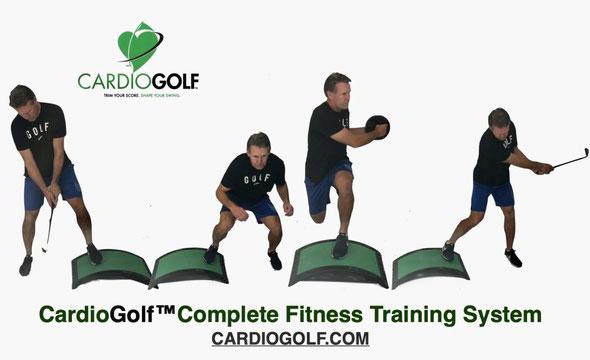 オリンピック選手も有酸素運動トレーニング・カーディオゴルフ青山