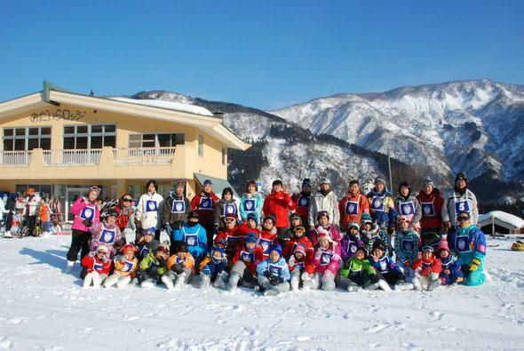 平成25年1月12日スキー訓練(石川県白山市)