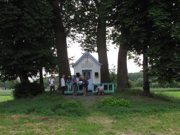 La chapelle de  Notre  Dame de  Bonsecours  ou Chapelle des  Marais  - Marchiennes 2017