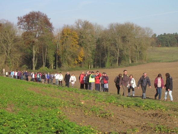TRACY LE  MONT  - 23/11/2014 -  plus de  76  personnes  A.R.N. et Jumelage BEVERLEY / NOGENT S/OISE.