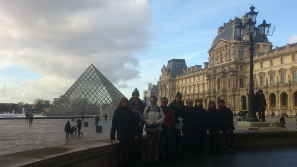La traversée de  PARIS   le  11 décembre 2016  -