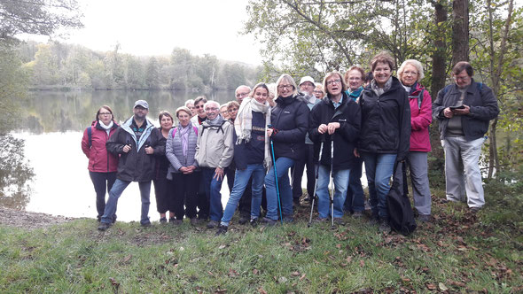 Rando santé  - octobre 2017 -  Maysel par les étangs
