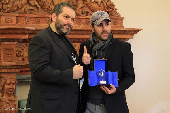 Il sindaco di Fano Massimo Seri riceve tutta la troupe Tecnico/Artistica del Film.