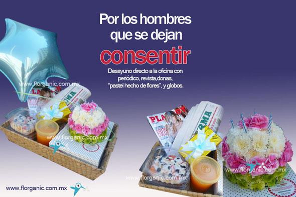 Flores para hombres 14 de febrero Mexico DF