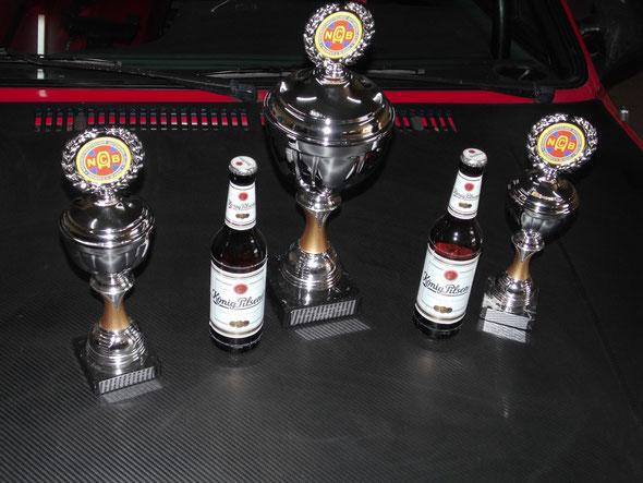 Die ersten Pokale 2016....