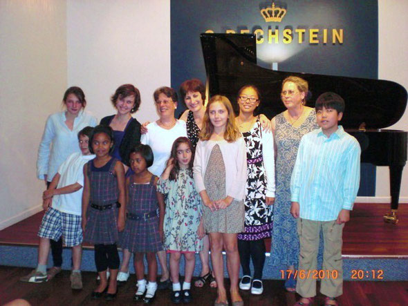 Student Recital at the Bechstein Piano Center, New York