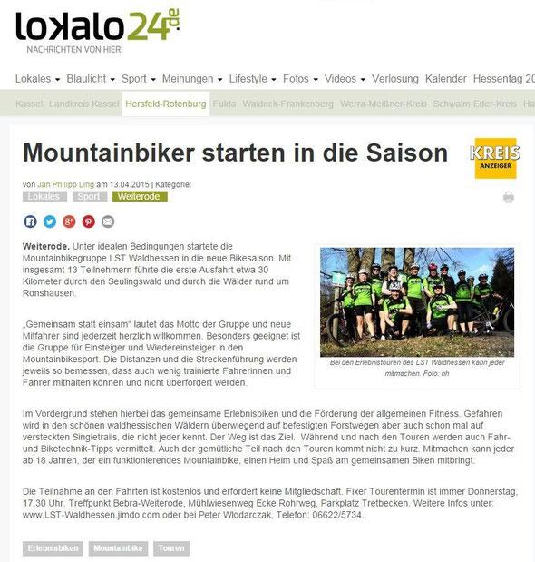 Quelle: Lokalo24.de (vom 13.04.2015)