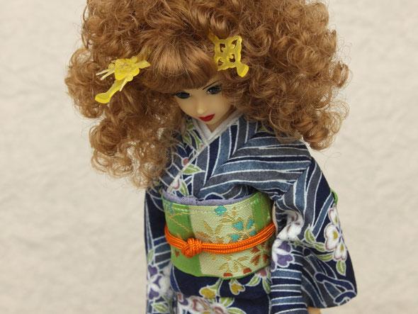 人形かんざし、リカちゃんかんざし、ジェニーかんざし