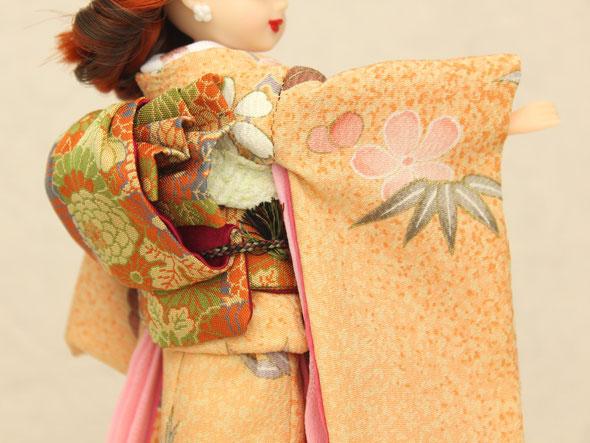 リカちゃん&ブライスサイズ 正絹本格着物