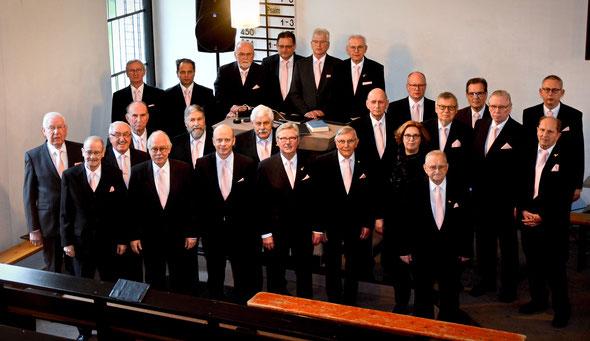 Chor in der Lutherische Kirche am 27.01.2019. Foto: Karin Ferlemann, Schüttorf, Wolkenreich - Pictures