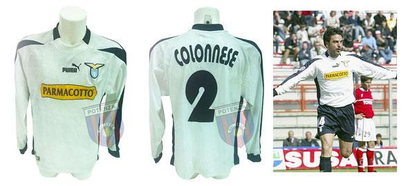 Maglia indossata da Colonnese durante la partita (Perugia-Lazio 1-2 del 28/03/2004) che però rimase in panchina.