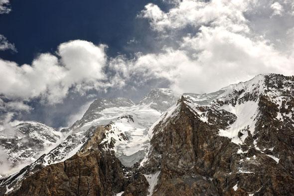 Der zwölfthöchste Berg der Erde: der Broad Peak.              © Dr. Jürgen Greher/2011