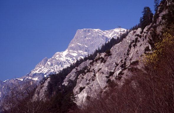 Frühling im Johnsbachtal in den Ennstaler Alpen.