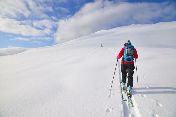 Der Hatten nach einem kräftigen Schneeschauer - ein absoluter Traum!