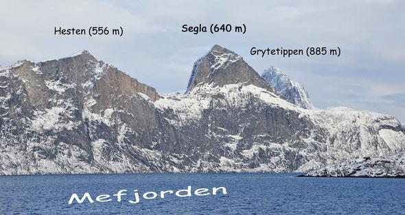 Segla, Hesten, Grytetippen, Skitour, Norwegen, Lappland,