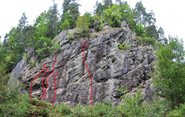 "Storheia - Kristiansand / Sektor ""Pine Wall"""
