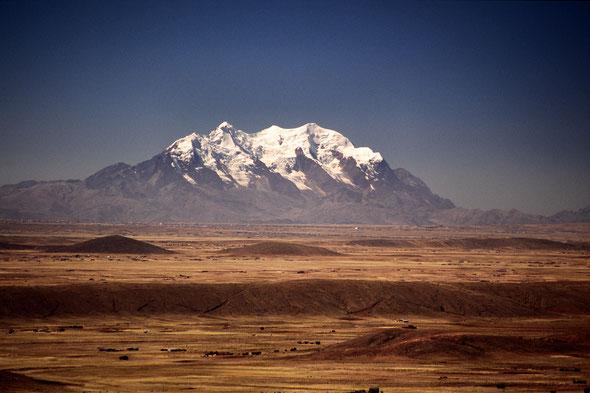 Illimani (6439 m) - Bolivien