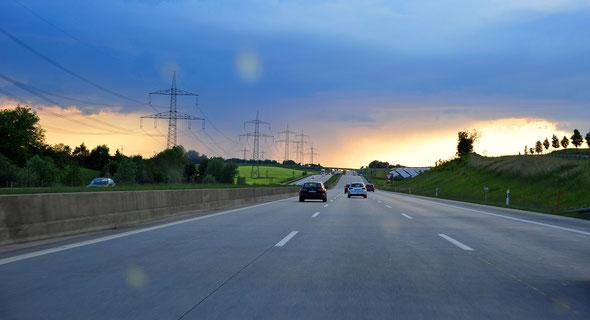 Unterwegs von Maresberg nach Ulm
