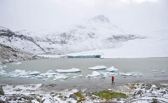 Der Store Smørstabbtind ist einer der einfach erreichbaren Gipfelziele im Jotunheimen - wenn das Wetter mitspielt...